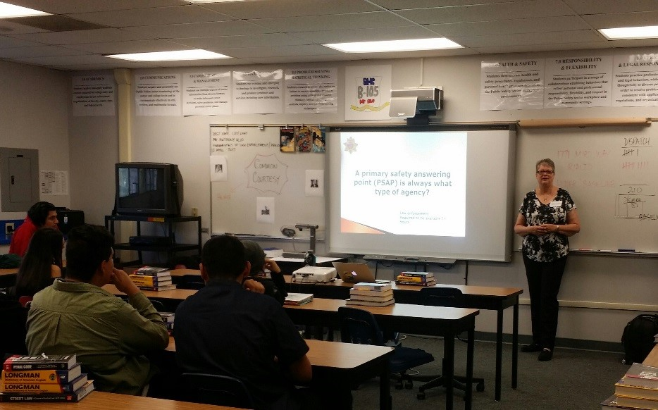 POST MAKES DISPATCHING PRESENTATIONS FOR RIALTO HIGH SCHOOL PATHWAYS PROGRAM
