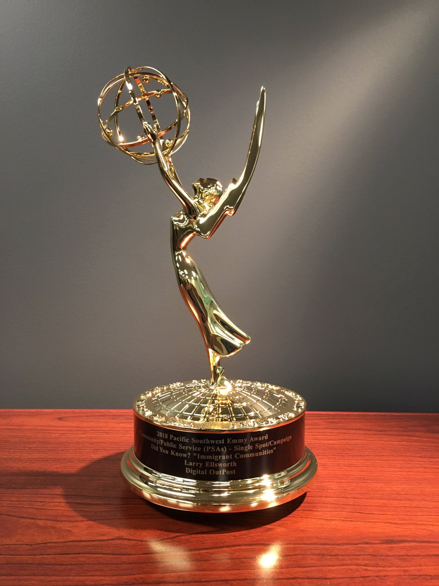 POST Wins Emmy for Did You Know