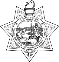 Image of CA POST Badge