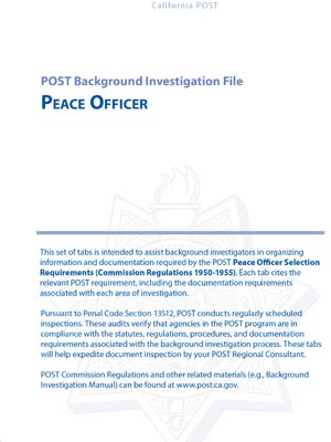 POST Publications and Guidelines
