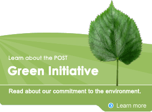 POST Green Initiative